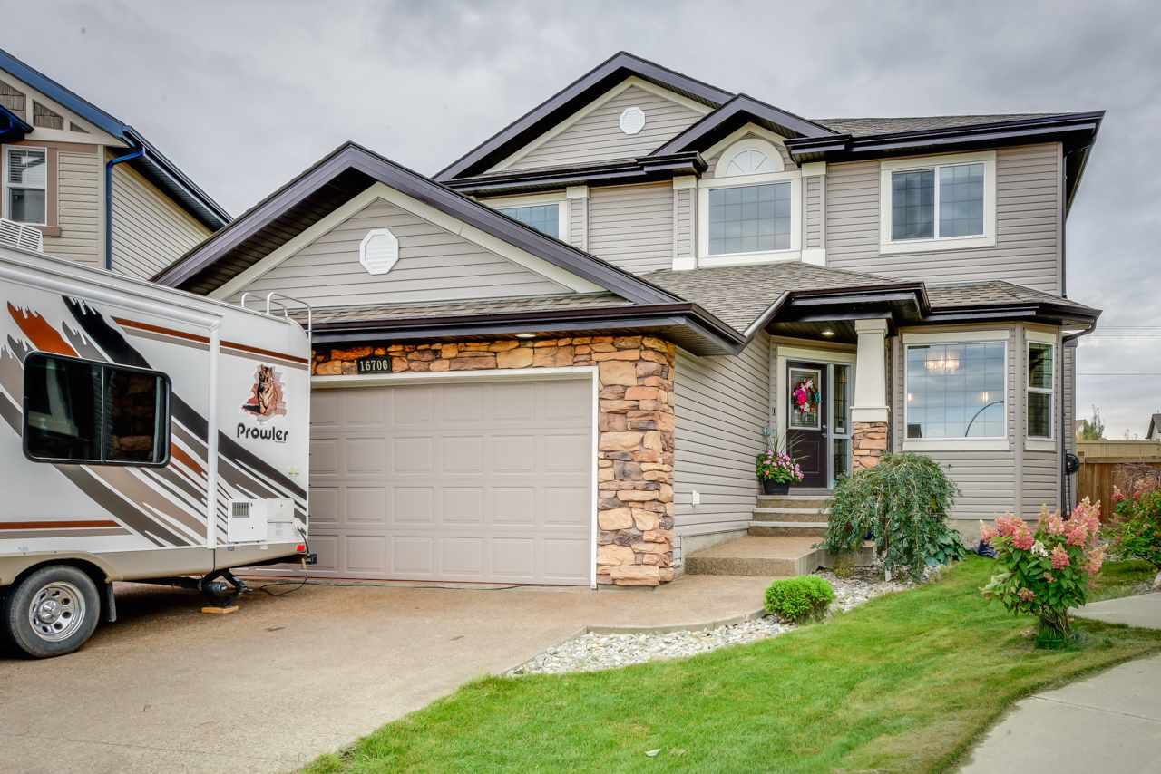 Main Photo: 16706 57A Street NW in Edmonton: Zone 03 House for sale : MLS®# E4101944