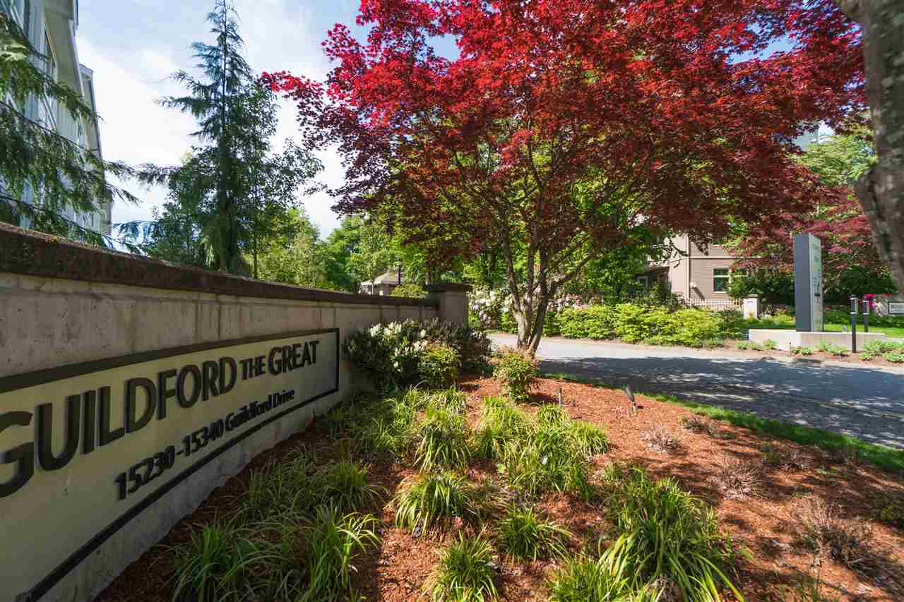 "Main Photo: 158 15230 GUILDFORD Drive in Surrey: Guildford Townhouse for sale in ""Guildford the Great"" (North Surrey)  : MLS®# R2267311"