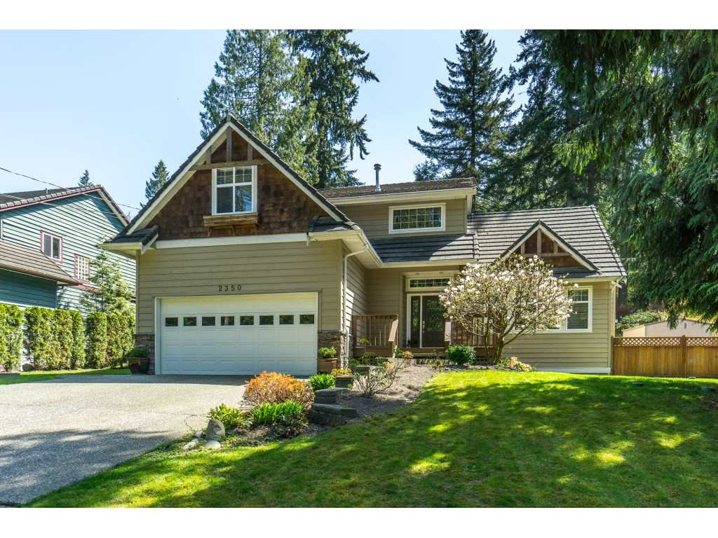 Main Photo: 2350 SUNNYSIDE Road: Anmore House for sale (Port Moody)  : MLS®# R2286880