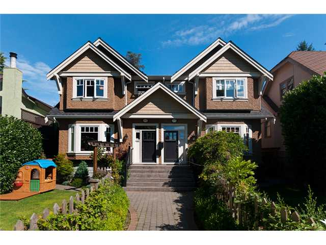 Main Photo: 2549 W 41ST Avenue in Vancouver: Kerrisdale House 1/2 Duplex for sale (Vancouver West)  : MLS®# V906143