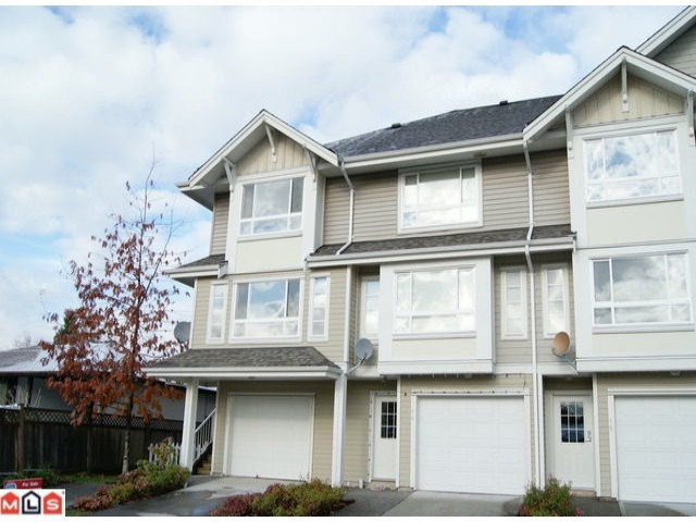 "Main Photo: 13 5255  201A ST in Langley: Langley City Townhouse for sale in ""Kensington Court"" : MLS®# F1128048"