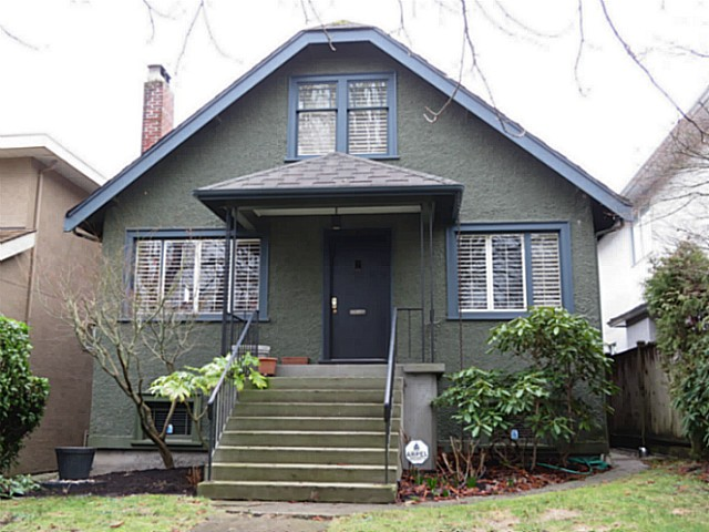 Main Photo: 3854 W 15TH Avenue in Vancouver: Point Grey House for sale (Vancouver West)  : MLS(r) # V1103885