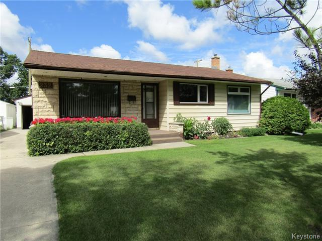 Main Photo: 232 Rita Street in WINNIPEG: St James Residential for sale (West Winnipeg)  : MLS®# 1521906