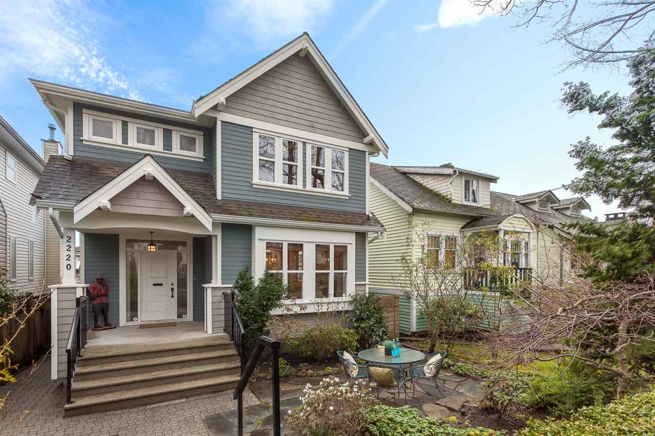 "Main Photo: 2220 E 7TH Avenue in Vancouver: Grandview VE House for sale in ""COMMERCIAL DRIVE"" (Vancouver East)  : MLS® # R2154172"