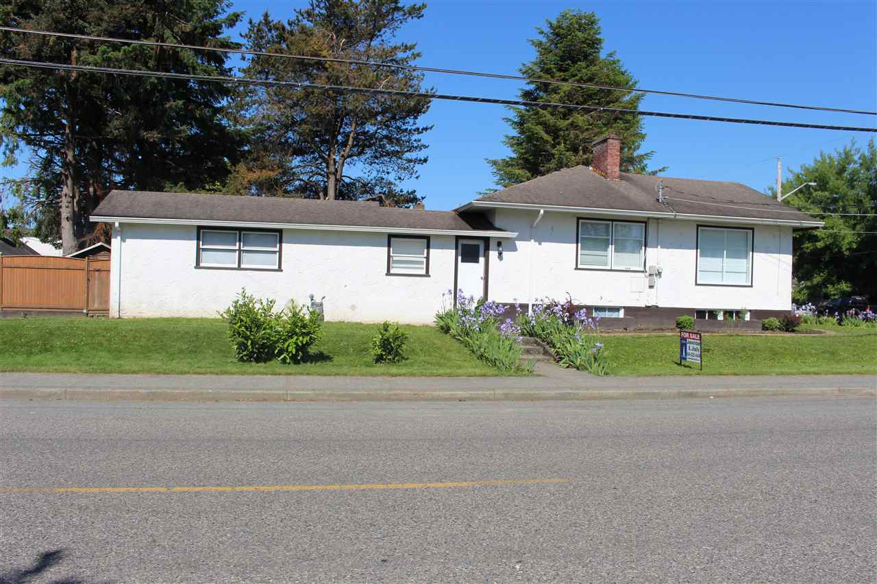 Main Photo: 46198 PRINCESS Avenue in Chilliwack: Chilliwack E Young-Yale House for sale : MLS® # R2170884