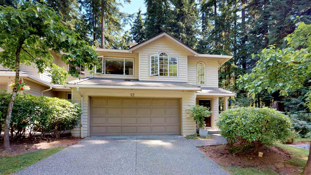 Main Photo: 12 DEERWOOD PLACE in Port Moody: Heritage Mountain Townhouse for sale : MLS®# R2184823
