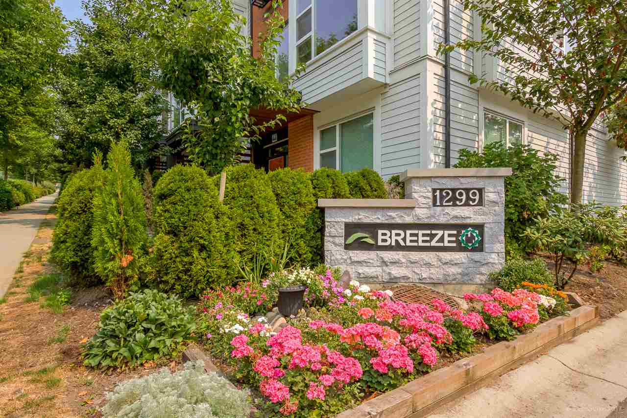 "Main Photo: 33 1299 COAST MERIDIAN Road in Coquitlam: Burke Mountain Townhouse for sale in ""BREEZE"" : MLS®# R2195515"