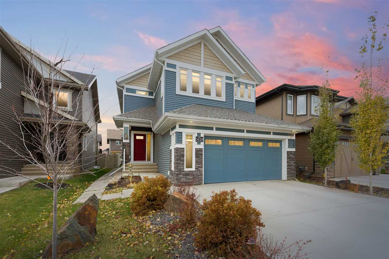 Main Photo: 5428 EDWORTHY Way NW in Edmonton: Zone 57 House for sale : MLS®# E4096910