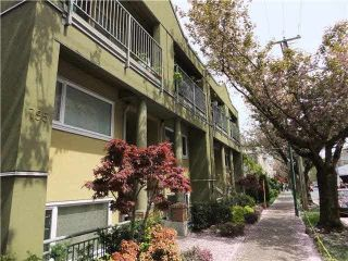 "Main Photo: 5 795 W 8TH Avenue in Vancouver: Fairview VW Condo for sale in ""DOVER COURT"" (Vancouver West)  : MLS® # R2241283"