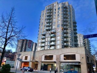 "Main Photo: 504 55 TENTH Street in New Westminster: Downtown NW Condo for sale in ""WESTMINSTER TOWERS"" : MLS®# R2248585"