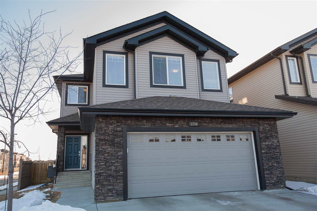 Main Photo: 1246 HAYS Drive NW in Edmonton: Zone 58 House for sale : MLS®# E4105866
