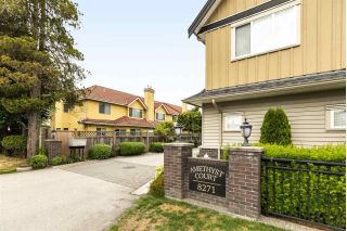 "Main Photo: 5 8271 FRANCIS Road in Richmond: Garden City Townhouse for sale in ""AMETHYST COURT"" : MLS®# R2280847"