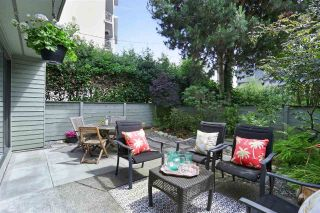 "Main Photo: 101 2119 BELLEVUE Avenue in West Vancouver: Dundarave Condo for sale in ""Bellevue Gardens"" : MLS®# R2285078"