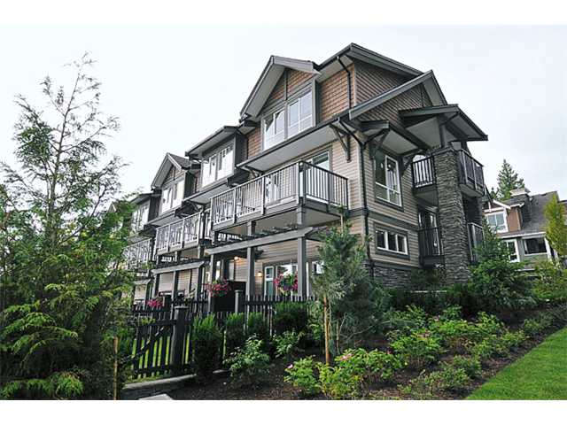 "Main Photo: 118 1460 SOUTHVIEW Street in Coquitlam: Burke Mountain Townhouse for sale in ""CEDAR CREEK"" : MLS(r) # V917929"