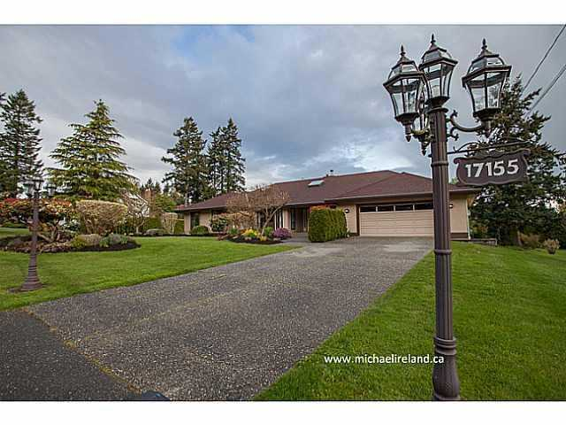 Main Photo: 17155 26A Avenue in Surrey: Grandview Surrey House for sale (South Surrey White Rock)  : MLS® # F1409954