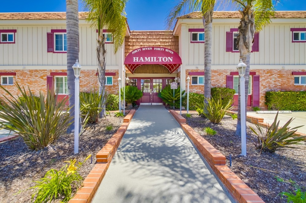 Main Photo: UNIVERSITY HEIGHTS Condo for sale : 1 bedrooms : 4747 Hamilton St #21 in San Diego