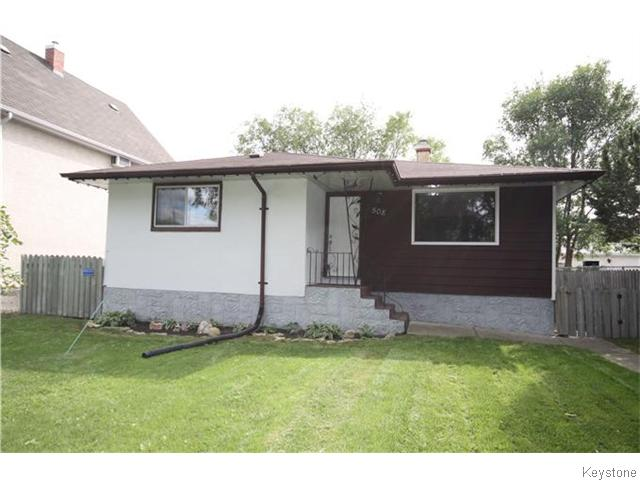 Main Photo: 508 Victoria Avenue West in WINNIPEG: Transcona Residential for sale (North East Winnipeg)  : MLS® # 1524543