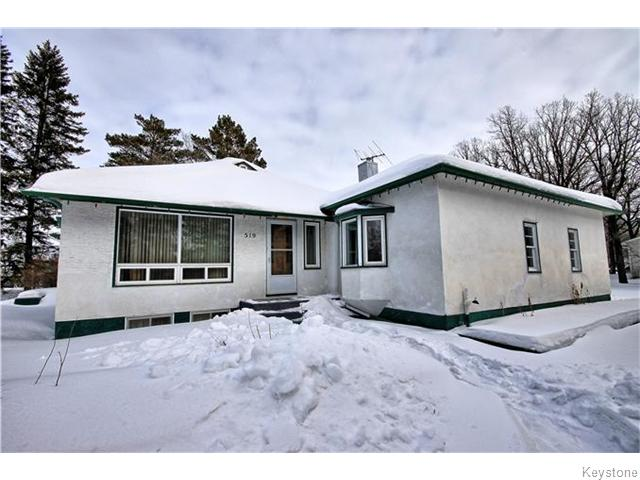 Main Photo: 519 Cote Avenue East in STPIERRE: Manitoba Other Residential for sale : MLS® # 1604023