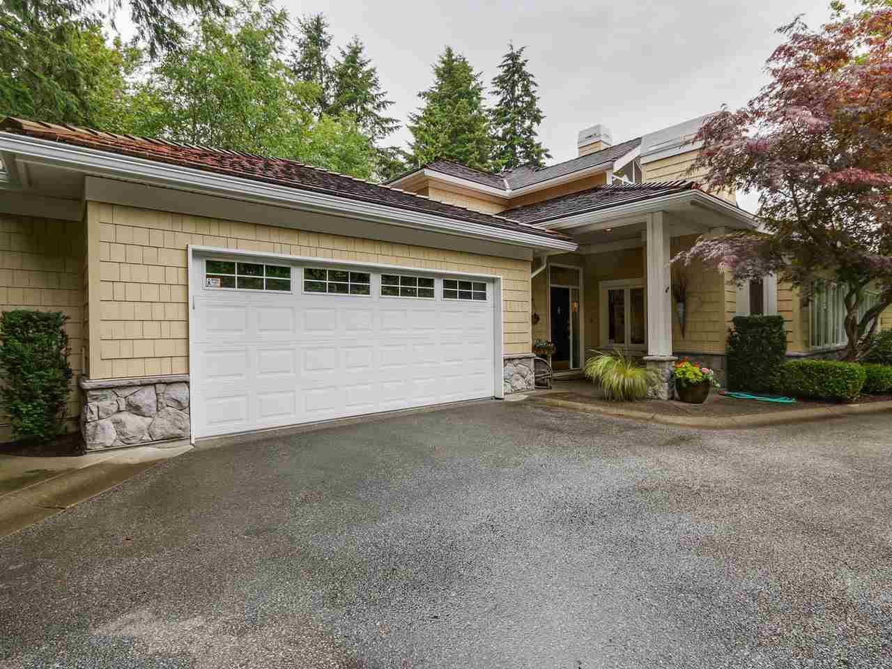 "Main Photo: 9 3225 MORGAN CREEK Way in Surrey: Morgan Creek Townhouse for sale in ""Deer Run"" (South Surrey White Rock)  : MLS® # R2087190"