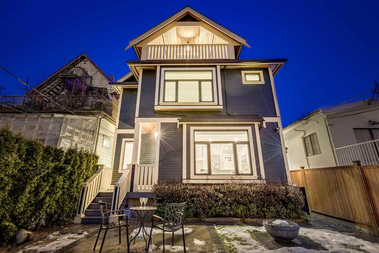 Main Photo: 1758 E 13TH Avenue in Vancouver: Grandview VE House 1/2 Duplex for sale (Vancouver East)  : MLS® # R2132756