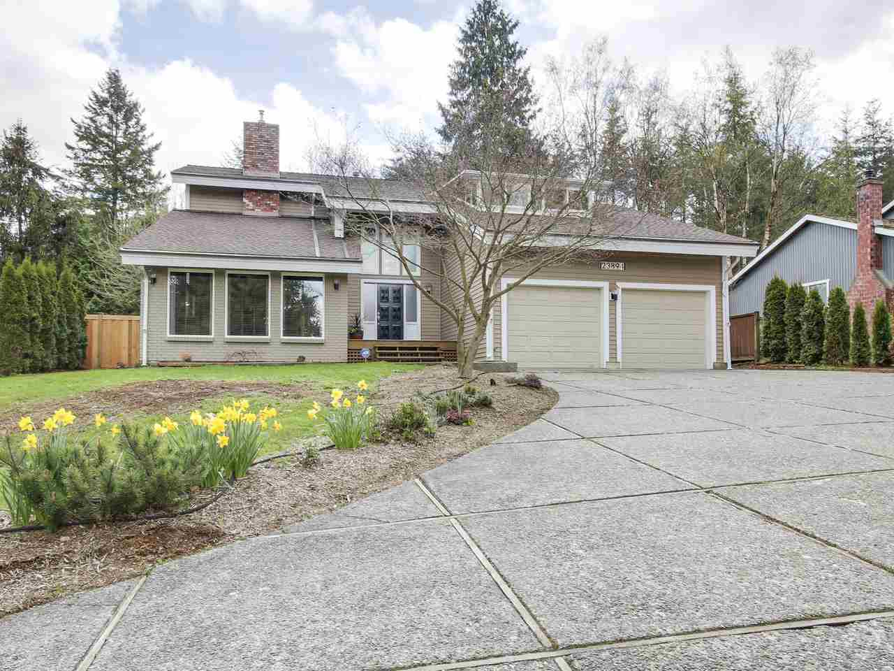 "Main Photo: 23894 58A Avenue in Langley: Salmon River House for sale in ""TALL TIMBERS"" : MLS®# R2156141"