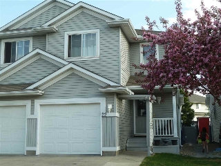 Main Photo: 22 13403 CUMBERLAND Road in Edmonton: Zone 27 House Half Duplex for sale : MLS® # E4066038