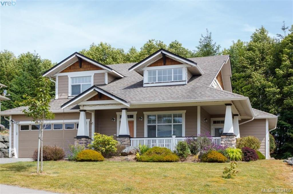 Main Photo: 6497 Riverstone Drive in SOOKE: Sk Sunriver Single Family Detached for sale (Sooke)  : MLS®# 379486