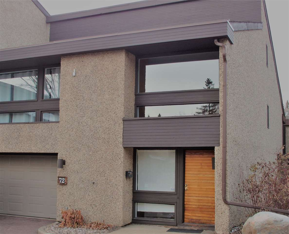 Main Photo: 72 Willow Way in Edmonton: Zone 22 Townhouse for sale : MLS® # E4072542