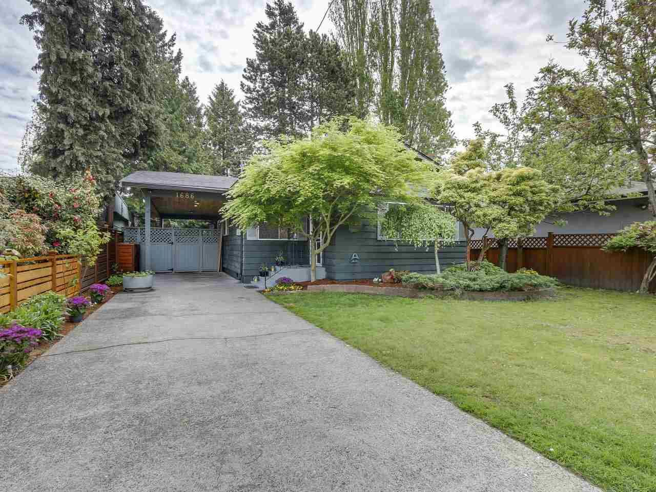 Main Photo: 1686 ENDERBY AVENUE in Delta: Beach Grove House for sale (Tsawwassen)  : MLS®# R2211903