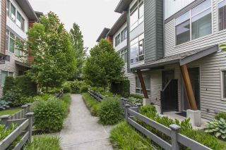 "Main Photo: 28 8473 163 Street in Surrey: Fleetwood Tynehead Townhouse for sale in ""The Rockwoods"" : MLS®# R2279328"