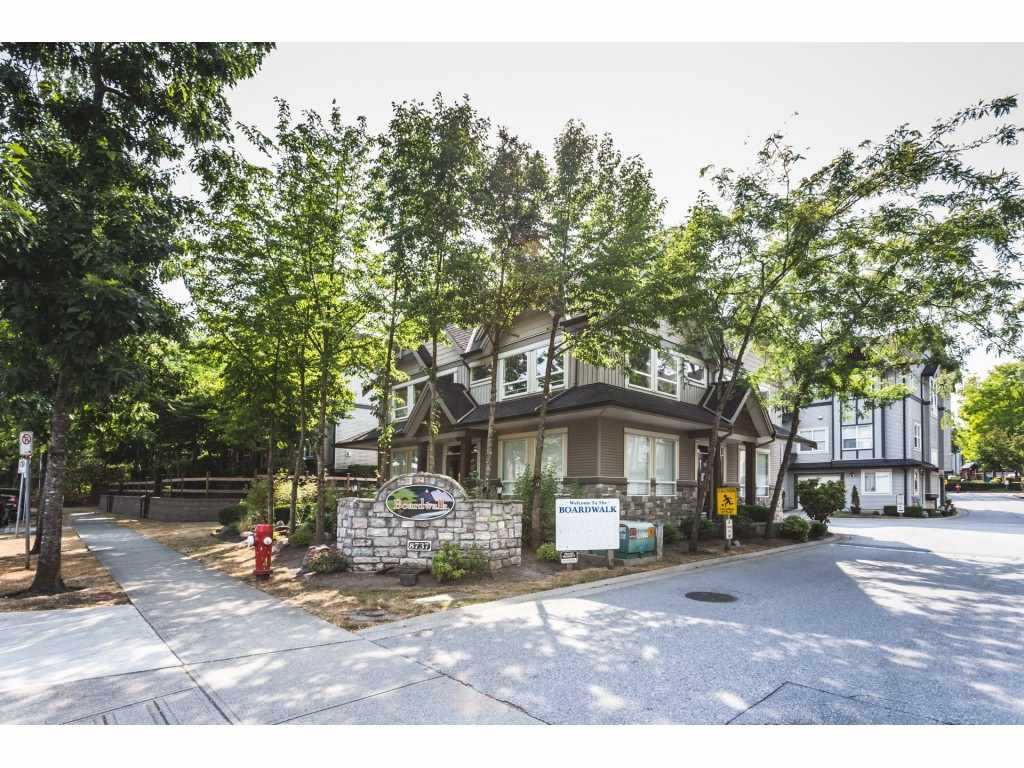 "Main Photo: 14 8737 161 Street in Surrey: Fleetwood Tynehead Townhouse for sale in ""Boardwalk"" : MLS®# R2294988"