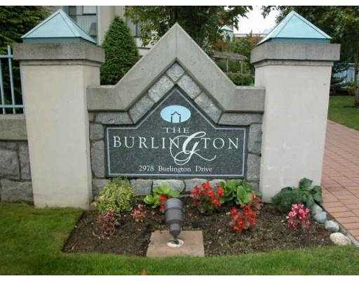 "Main Photo: 304 2978 BURLINGTON DR in Coquitlam: North Coquitlam Condo for sale in ""BURLINGTON"" : MLS® # V591374"