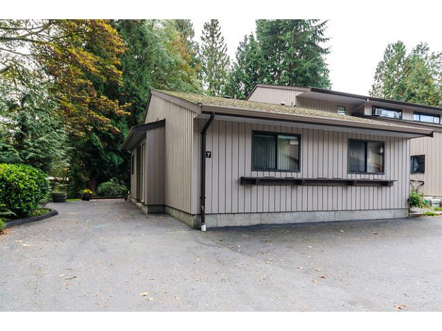 Main Photo: 7 4850 207TH Street in Langley: Langley City Townhouse for sale : MLS® # F1324231