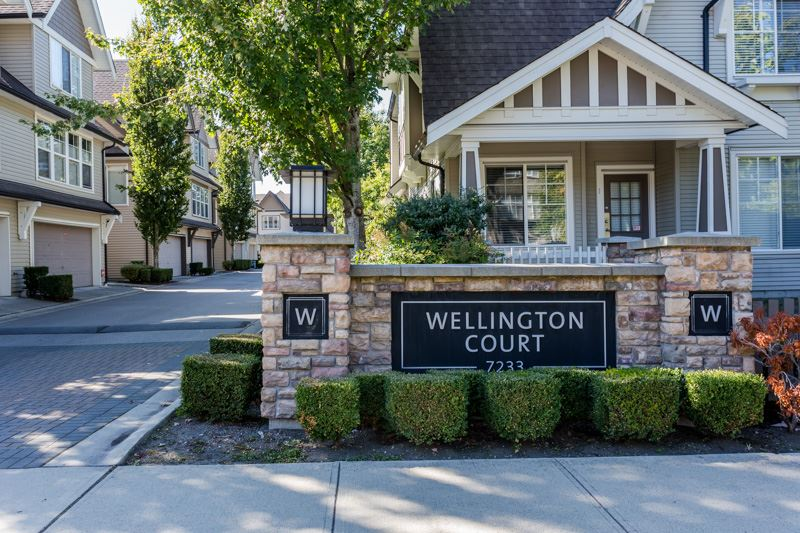 "Main Photo: 31 7233 HEATHER Street in Richmond: McLennan North Townhouse for sale in ""WELLINGTON COURT"" : MLS®# R2000739"