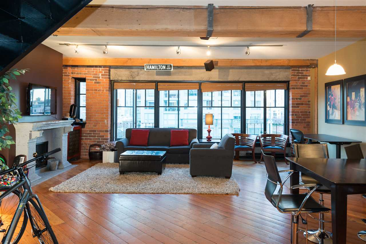 "Main Photo: PH6 1178 HAMILTON Street in Vancouver: Yaletown Condo for sale in ""THE HAMILTON"" (Vancouver West)  : MLS(r) # R2020115"