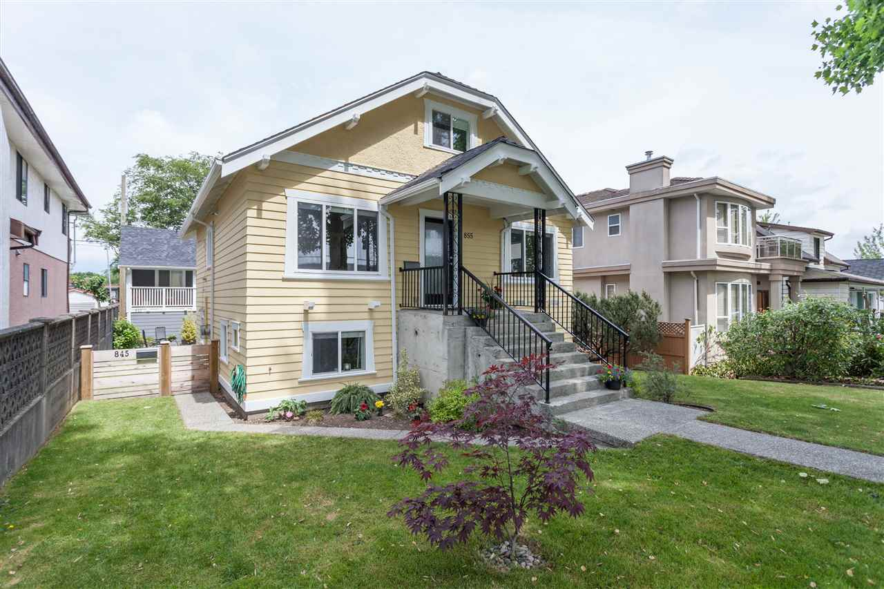 Main Photo: 855 E 24TH Avenue in Vancouver: Fraser VE House for sale (Vancouver East)  : MLS® # R2071078