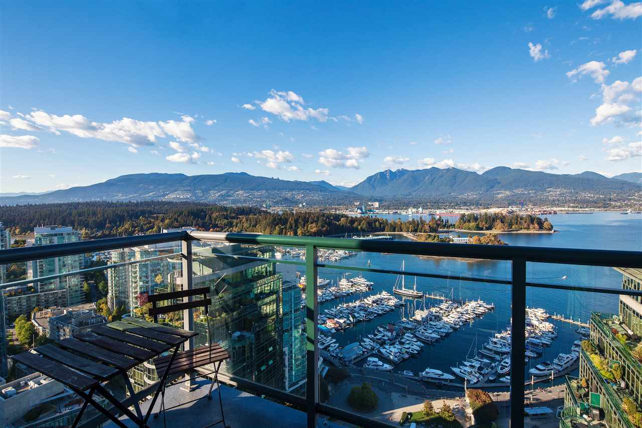 "Main Photo: 3605 1328 W PENDER Street in Vancouver: Coal Harbour Condo for sale in ""CLASSICO"" (Vancouver West)  : MLS® # R2109220"