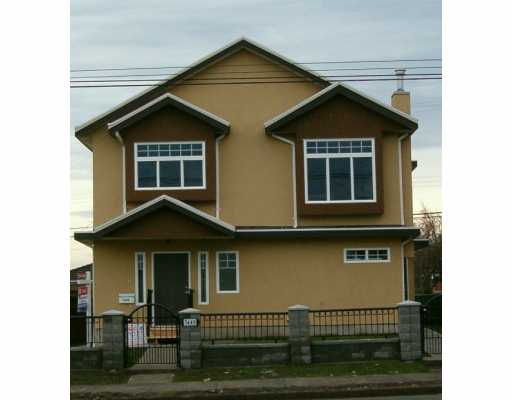 Main Photo: 7449 Main Street in Vancouver: South Vancouver House 1/2 Duplex for sale (Vancouver East)  : MLS(r) # V622304