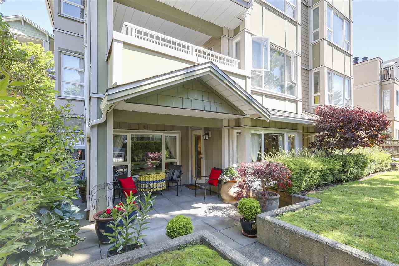 "Photo 3: 101 937 W 14TH Avenue in Vancouver: Fairview VW Condo for sale in ""Villa 937"" (Vancouver West)  : MLS® # R2169797"