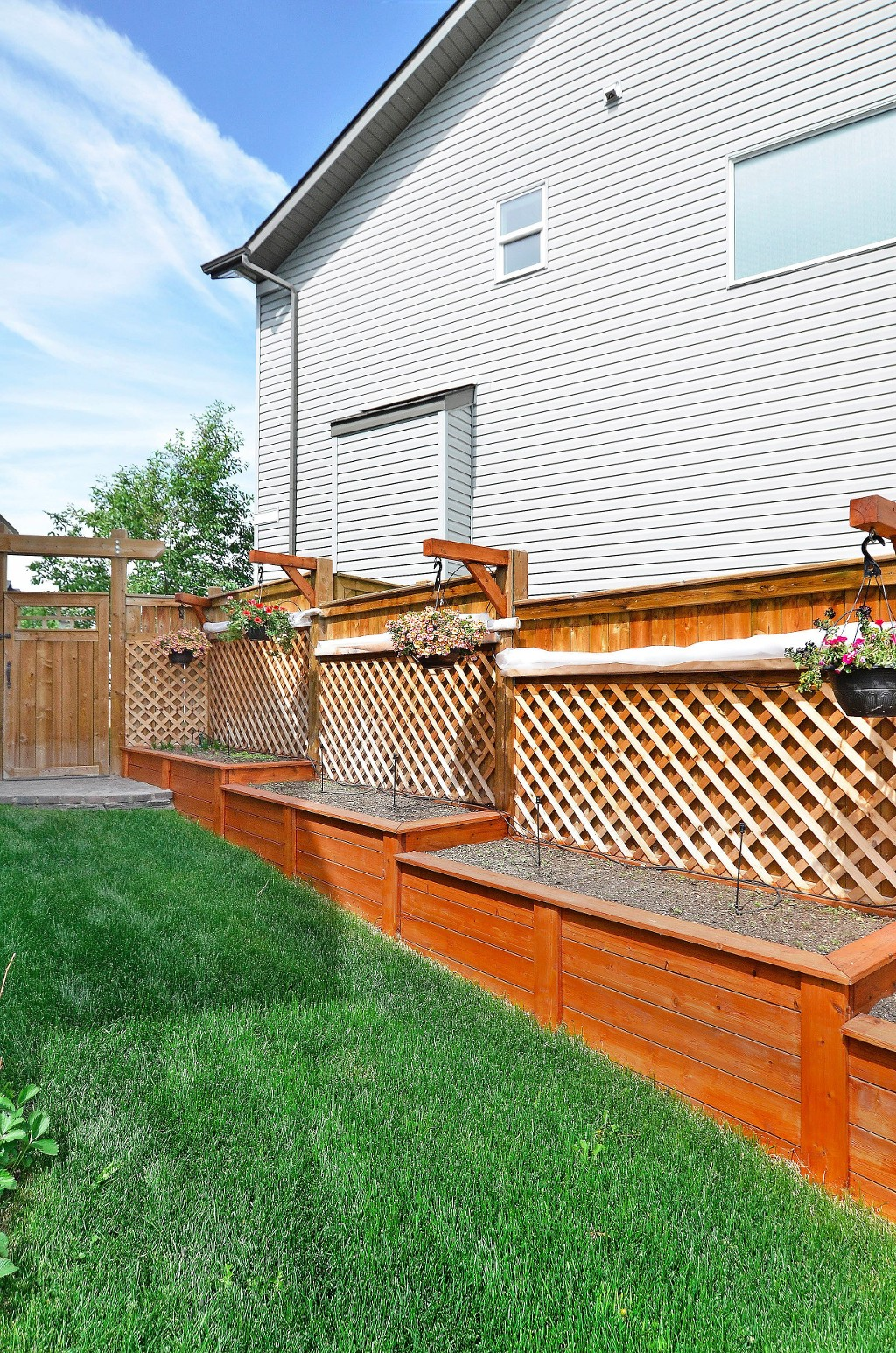 Lots of room for growing your favourite veggies 91 Drake Landing Loop, Okotoks Real Estate Listing