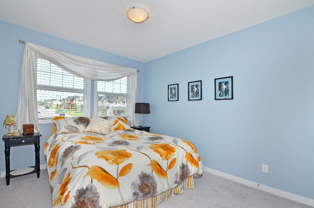 Second bedroom on the upper level 91 Drake Landing Loop, Okotoks Real Estate Listing
