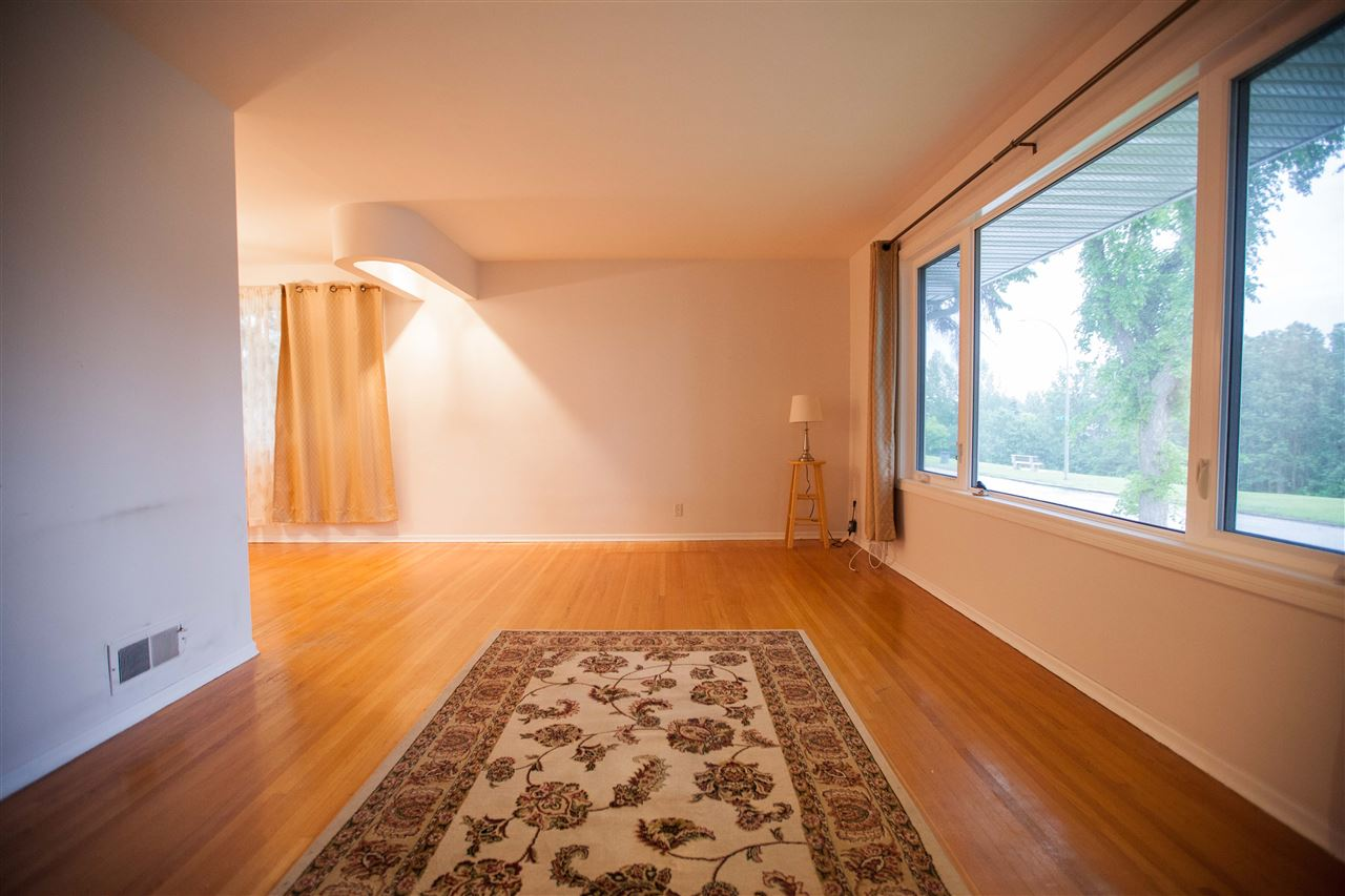 The original hardwood (if you like hardwood) and great view out the window add to the appeal of this home.