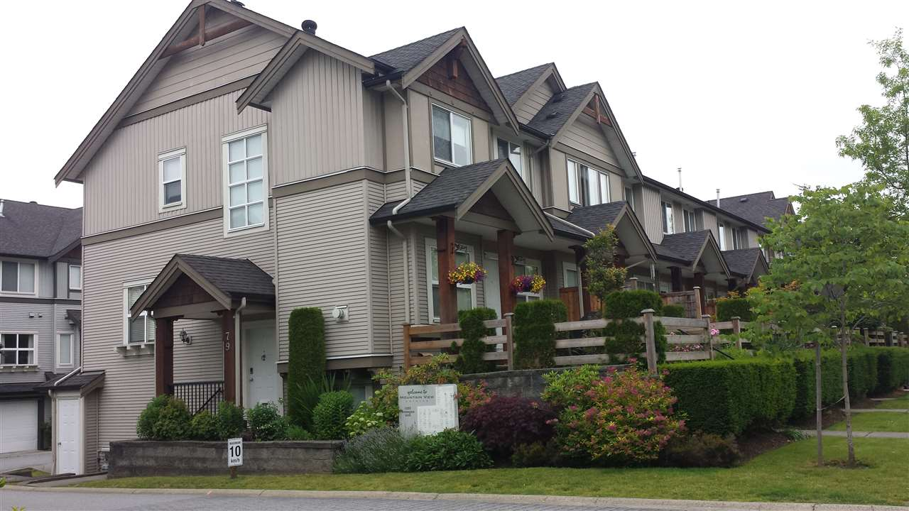 Main Photo: 79 1055 RIVERWOOD Gate in Port Coquitlam: Riverwood Townhouse for sale : MLS(r) # R2180517