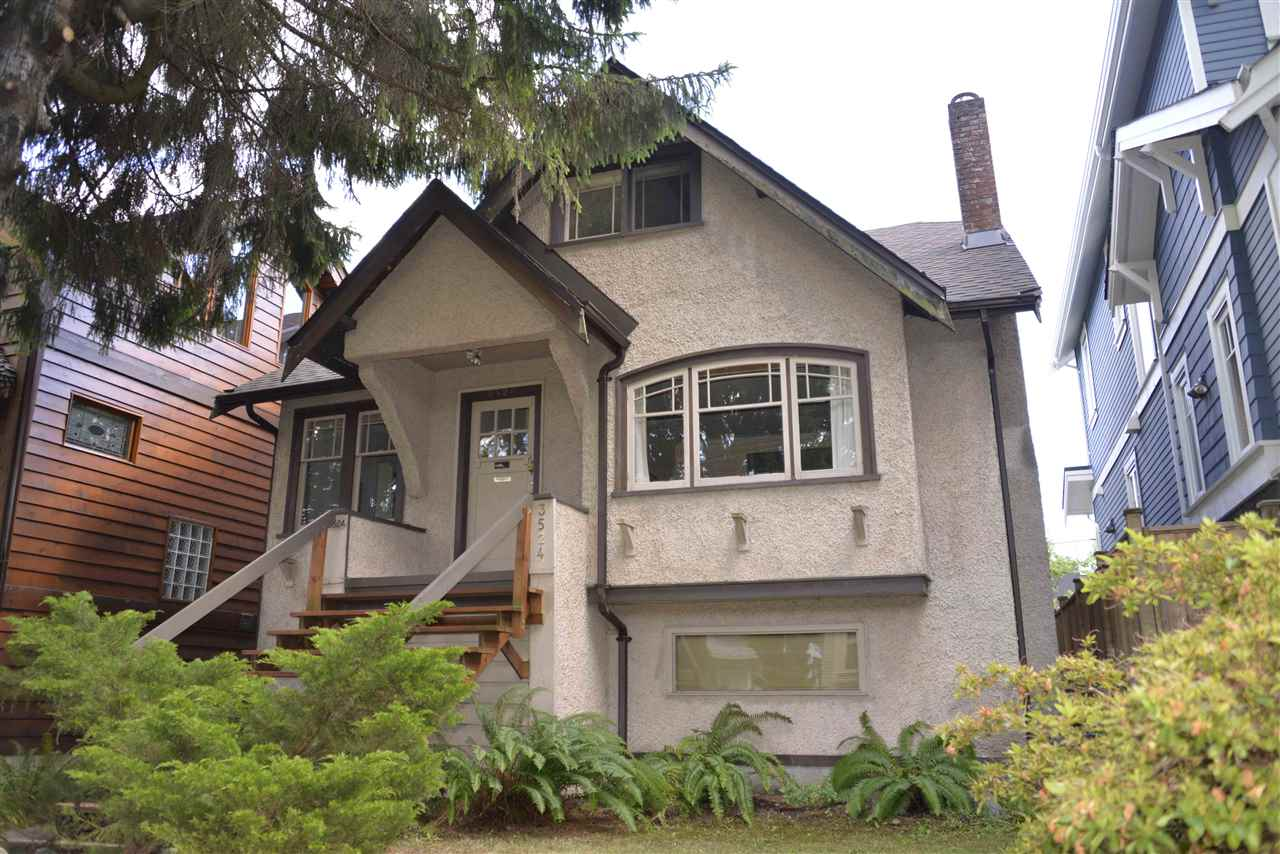 Main Photo: 3524 W 22ND Avenue in Vancouver: Dunbar House for sale (Vancouver West)  : MLS® # R2182369