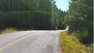 Francis Peninsula Road is paved and this property is approximately 1 hour from the Langdale Ferry.