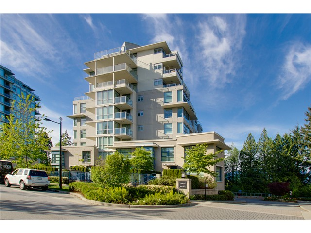 "Main Photo: 702 9232 UNIVERSITY Crescent in Burnaby: Simon Fraser Univer. Condo for sale in ""NOVO II"" (Burnaby North)  : MLS® # V1065331"