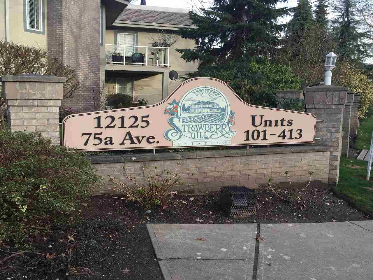 "Main Photo: 311 12125 75A Avenue in Surrey: West Newton Condo for sale in ""Strawberry Hill"" : MLS® # R2041392"