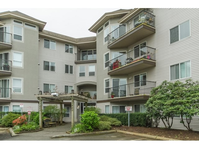 "Main Photo: 310 33480 GEORGE FERGUSON Way in Abbotsford: Central Abbotsford Condo for sale in ""Carmody Ridge"" : MLS®# R2052955"