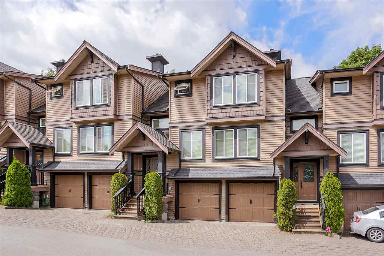 "Main Photo: 6 22206 124 Avenue in Maple Ridge: West Central Townhouse for sale in ""COPPERSTONE RIDGE"" : MLS® # R2064079"