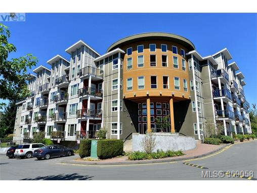 Main Photo: 407 866 Brock Avenue in VICTORIA: La Langford Proper Condo Apartment for sale (Langford)  : MLS® # 369058